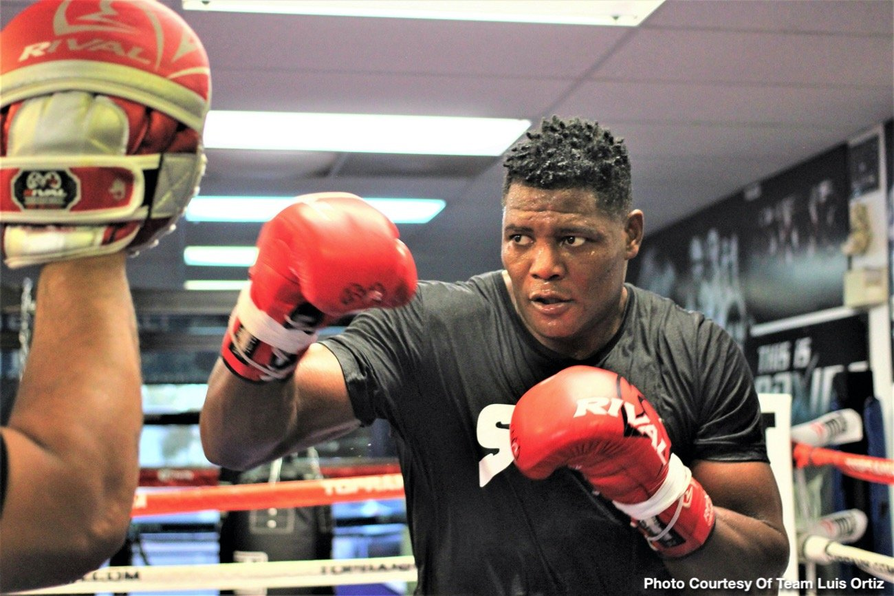 Deontay Wilder, Luis Ortiz - The current decade is about to end: 2010 to 2019. And when the times comes, boxing experts will have to decide who was the Fighter of the Decade. There are a number of superb fighters in the frame for the lofty distinction, and it will be very interesting to see who it is that gets the accolade. But in terms of who the heavyweight of the decade is, Luis Ortiz has made his choice: it's WBC champ Deontay Wilder, the man Ortiz will fight for a second time next Saturday night (Nov. 23).