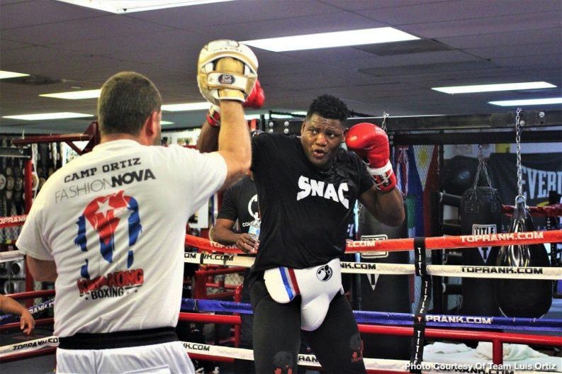 Deontay Wilder Luis Ortiz Boxing Interviews Boxing News