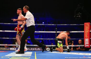 Anthony Fowler, Callum Smith, Chris Billam-Smith, Craig Glover, James Tennyson, John Ryder - Liverpool prospect Marcus Molloy kicked off the evening's action with a comfortable points win over Stockport's Jamie Quinn to improve his unbeaten record to 2-0.