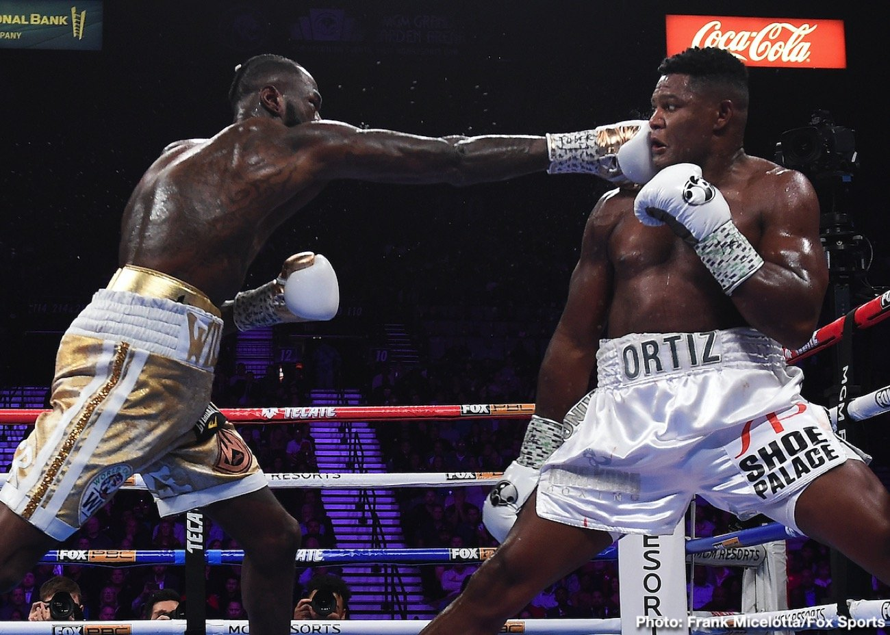 """Anthony Joshua, Luis Ortiz - Luis Ortiz is making noise again. The 41-year-old (officially, plenty of people strongly feeling he is, in fact, a good deal older) will return to the ring this Saturday night when he will square off with Alexander Flores, 18-2-1(16) in Los Angeles. But """"King Kong"""" is aiming for a big 2021."""