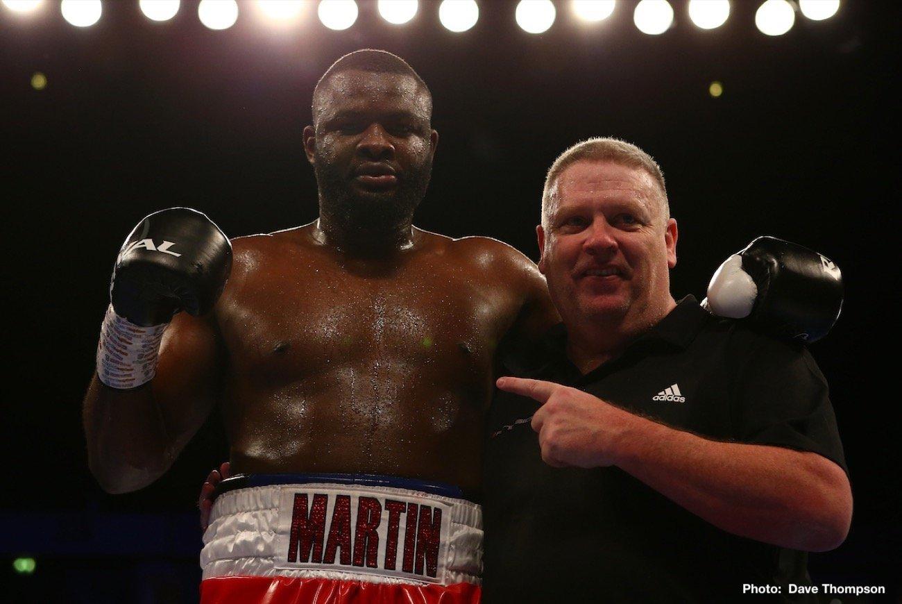 Haruna Osumanu, Martin Bakole - Boxing Results
