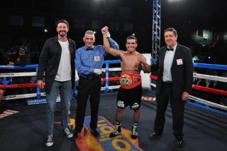 "Raquel Miller - Last saturday 23th nov in Pinamar, Buenos Aires, hard-hitting Gustavo ""Eléctrico"" Lemos from Argentina (24-0, 14 KO), demolished the Venezuelan Yeison González by TKO in two rounds, retaining for the 1st time his IBF World Youth Lightweight Title."