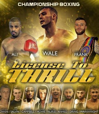 Tommy Frank - Josh 'The Outlaw' Wale gets the chance to become a three-weight champion on November 29, live on Freesports (Freeview 64; Sky 422; Virgin 553; Freesat 252; TalkTalk 64; BT 64).
