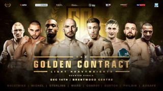 Hosea Burton - Burton (24-1, 11 KOs) takes his place in the eight-man tournament that kicks off at the Brentwood Centre on December 14 – broadcast live on Sky Sports in the UK in association with Matchroom Boxing and on ESPN+ in the US in association with Top Rank.