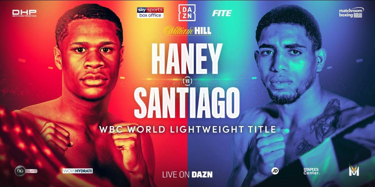 Alfredo Santiago Devin Haney Press Room