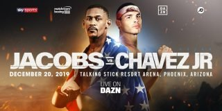 Julio Cesar Chavez Jr. - Daniel Jacobs and Julio Cesar Chavez Jr. will clash in a Super-Middleweight showdown at the Talking Stick Resort Arena in Phoenix, Arizona on Friday December 20, live on DAZN in the US and on Sky Sports in the UK.