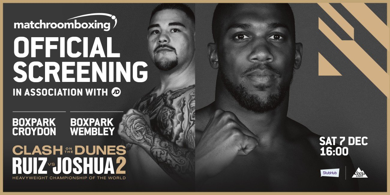 Andy Ruiz, Anthony Joshua - In less than a week Saudi Arabia will host what is regarded as one of the biggest sporting events to ever be staged in the Middle East, the highly-anticipated Heavyweight World Championship fight dubbed 'Clash on the Dunes' presented by Public Investment Fund (PIF).