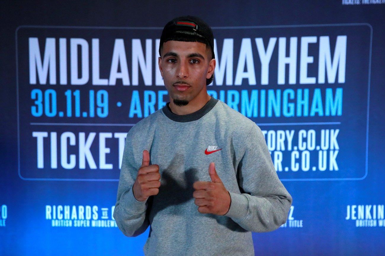 Shabaz Masoud British Boxing Press Room