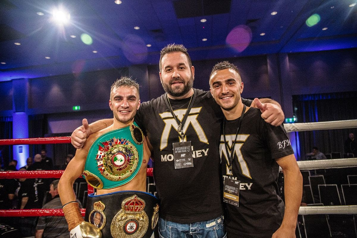 """Andrew Moloney - Guyana-native Elton Dharry didn't travel halfway around the world from New York City to Australia simply to pick-up a paycheck, after his World Boxing Association (WBA) Interim super flyweight title fight this Friday, against undefeated Aussie fighter Andrew """"The Monster"""" Moloney."""
