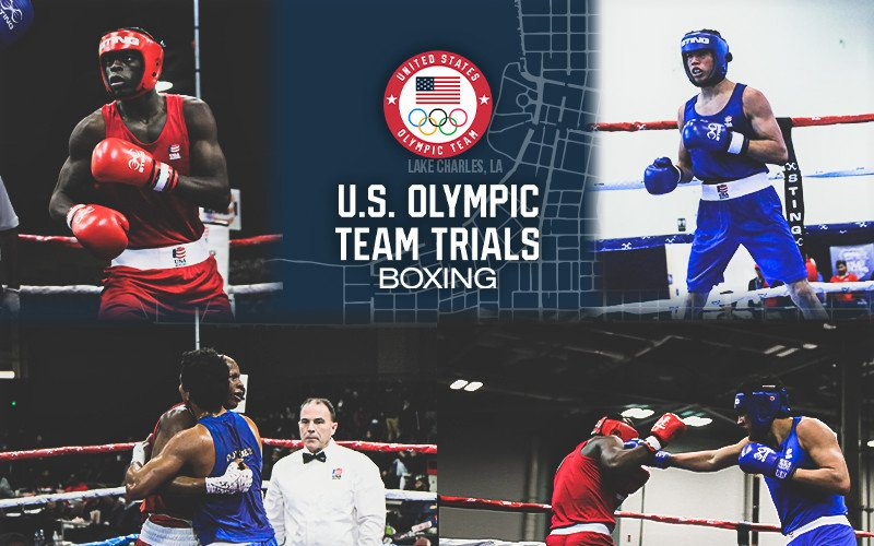 - Sixty-four of the nation's top male amateur boxers will compete at the upcoming 2020 U.S. Olympic Team Trials for Boxing in Lake Charles, Louisiana, December 9-16.