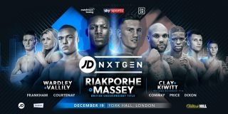 Richard Riakporhe - Richard Riakporhe - Walworth, London - 10-0, 8 KO's - fighting Jack Massey for the vacant British Cruiserweight title: