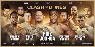 Dillian Whyte - Final undercard additions confirmed for Ruiz vs. Joshua 2