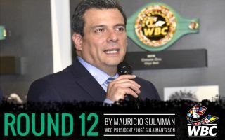 Bridgerweight - By Mauricio Sulaimán – Son of José Sulaimán – President of the WBC