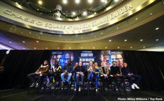 Bob Arum, Egidijus Kavaliauskas, Michael Conlan, Richard Commey, Teofimo Lopez, Terence Crawford, Vladimir Nikitin - Boxing News