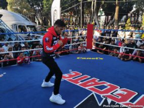 """Emanuel Navarrete, Francisco Horta, Jerwin Ancajas, Miguel Gonzalez - For the fourth time in seventh months, Mexico's Emanuel """"Vaquero"""" Navarrete will defend his WBO junior featherweight world title. Boxing's most active world champion will make his fourth title defense of 2019 Saturday against countryman Francisco Horta at Auditorio GNP Seguros in Puebla, Mexico (ESPN+, 9 p.m. ET)."""