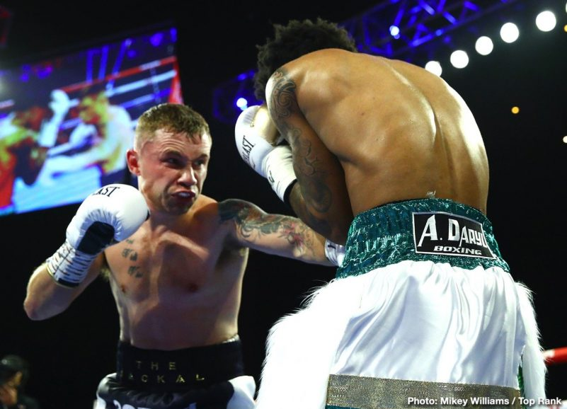 Adam Lopez Carl Frampton Óscar Valdez Tyler Mccreary Boxing News Boxing Results Top Stories Boxing