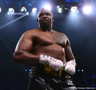 "Dillian Whyte Talks About The Time Wladimir Klitschko ""Knocked Deontay Wilder Cold"""