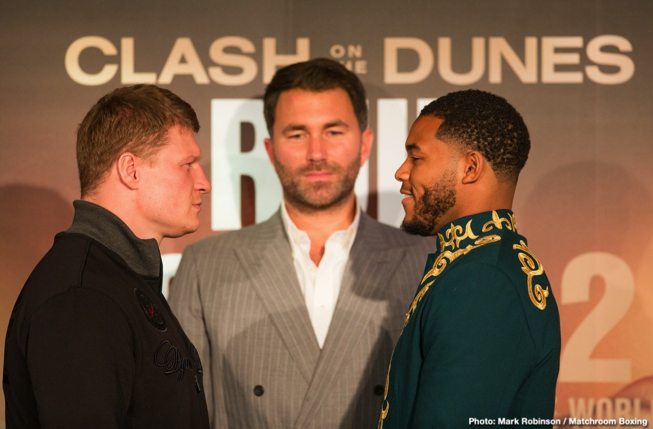 "Michael Hunter - Alexander Povetkin: ""I am really glad to be here and very excited to be on a card like this fighting Michael Hunter."