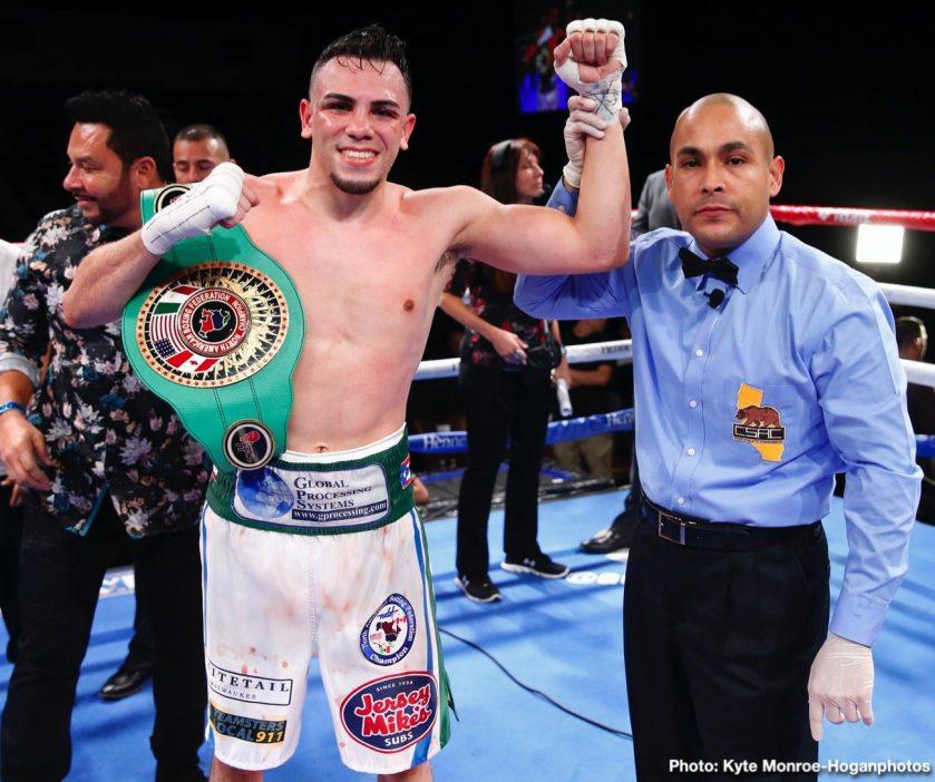 Albert Machado Brad Solomon Luis Porozo Vergil Ortiz Boxing News Boxing Results Top Stories Boxing