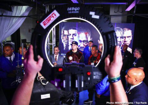 Egidijus Kavaliauskas, Michael Conlan, Richard Commey, Teofimo Lopez, Terence Crawford - Boxing News