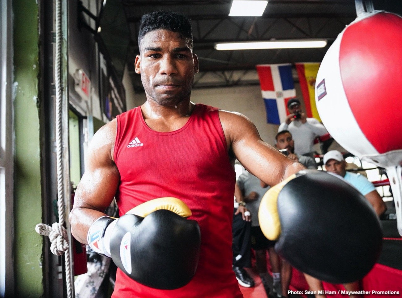 Yuriorkis Gamboa - Yuriorkis Gamboa: I'm very happy to be on this conference call. I'm also very appreciative of the opportunity given to me. A little odd that I'm saying that, given that I'm the veteran coming into this fight, but I think everything's lined up for me to have a big night on the 28th.