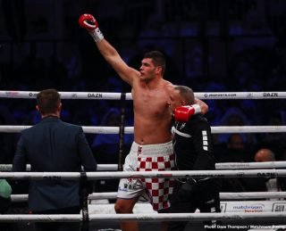 Filip Hrgovic - It's a matter of time before contender Filip Hrgovic gets a title shot against IBF/WBA/WBO heavyweight champion Anthony Joshua or WBC belt holder Tyson Fury. The unbeaten highly ranked Hrgovic (10-0, 7 KOs) and his promoter Nisse Sauerland are playing a waiting game before they get a crack at Joshua or Fury.