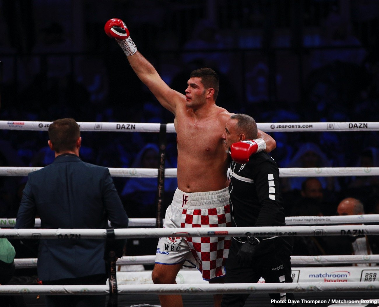 Boxing News - It's a matter of time before contender Filip Hrgovic gets a title shot against IBF/WBA/WBO heavyweight champion Anthony Joshua or WBC belt holder Tyson Fury. The unbeaten highly ranked Hrgovic (10-0, 7 KOs) and his promoter Nisse Sauerland are playing a waiting game before they get a crack at Joshua or Fury.