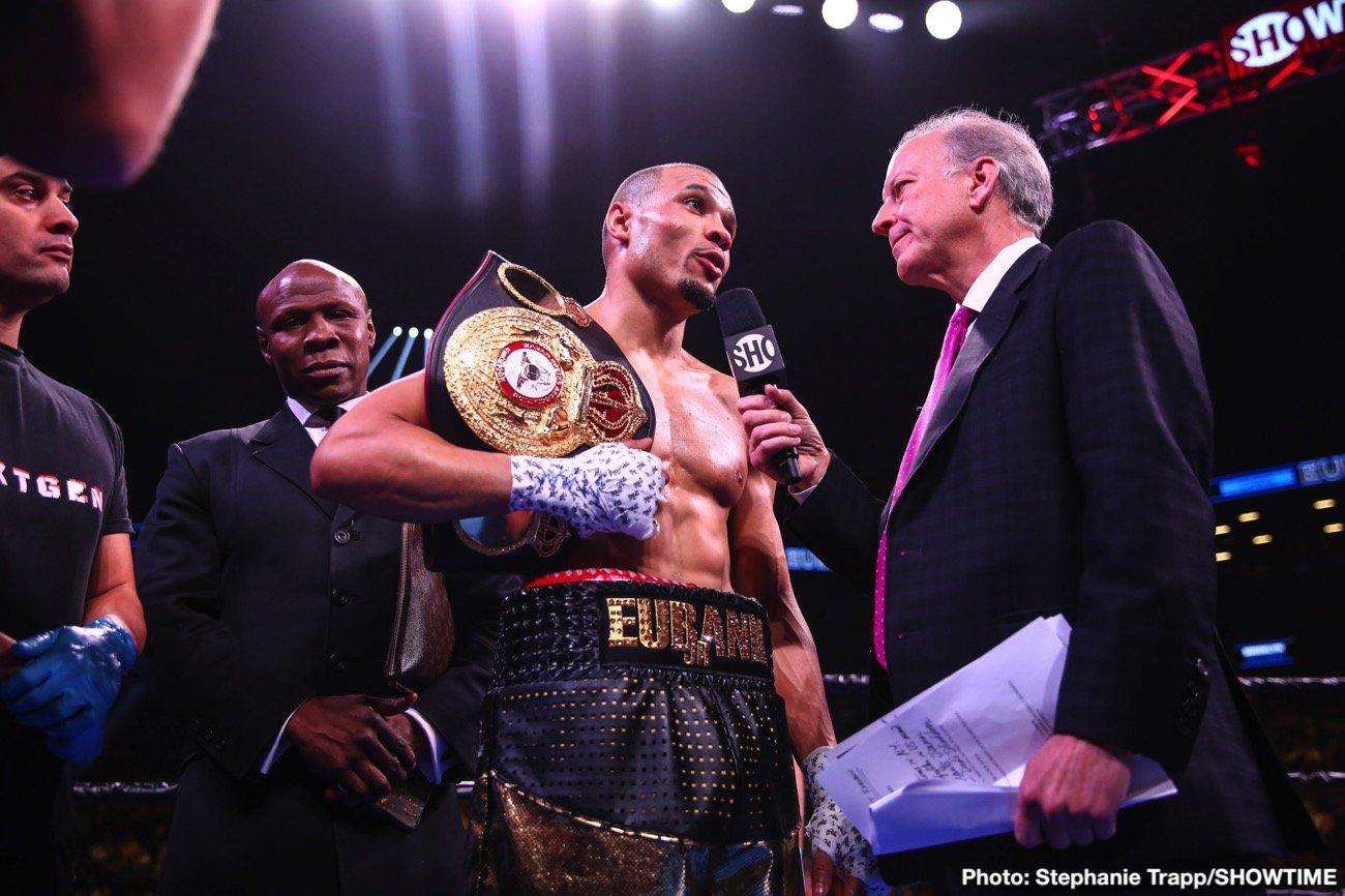 Chris Eubank - Boxing News