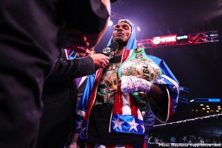 Matchroom Boxing - British promoter Eddie Hearn wants to use the services of WBC middleweight champion Jermall Charlo to help turn his Matchroom fighter WBO champion Demetrius Andrade into a bigger name.