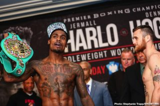Sergiy Derevyanchenko - Jermall Charlo surprised fans on Wednesday in saying that he feels that Sergiy Derevyanchenko didn't do enough to beat Gennadiy Golovkin last October. This opinion runs counter to the general boxing public, who overwhelmingly saw Derevyanchenko (13-2, 10 KOs) as the real winner of that fight with GGG (40-1-1, 35 KOs).