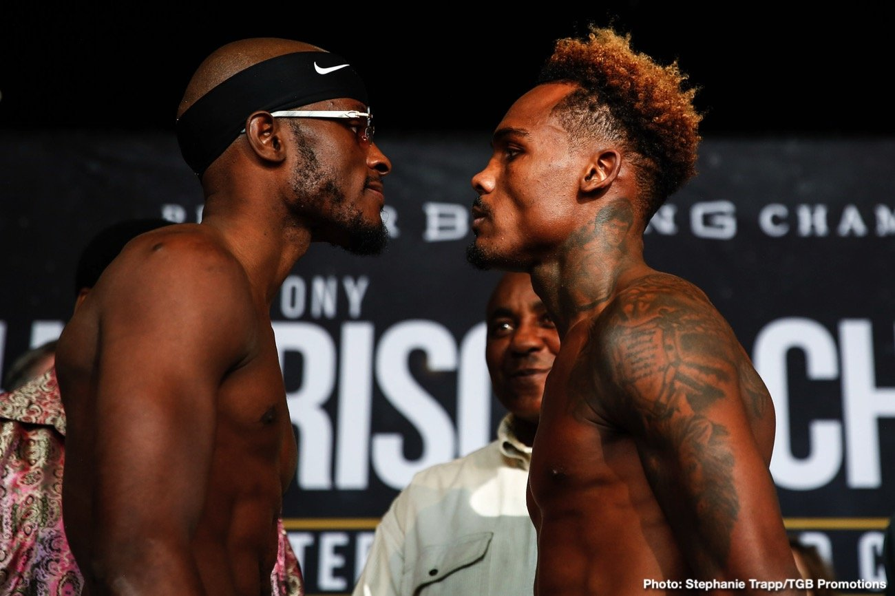 "Tony Harrison - WBC Super Welterweight Champion Tony ""Superbad"" Harrison and former champion Jermell Charlo continued their heated war of words while previewing their highly anticipated rematch on ""PBC FACE TO FACE"" this past Saturday on FOX. The title showdown headlines FOX PBC Fight Night and on FOX Deportes Saturday, December 21 from Toyota Arena in Ontario, California."