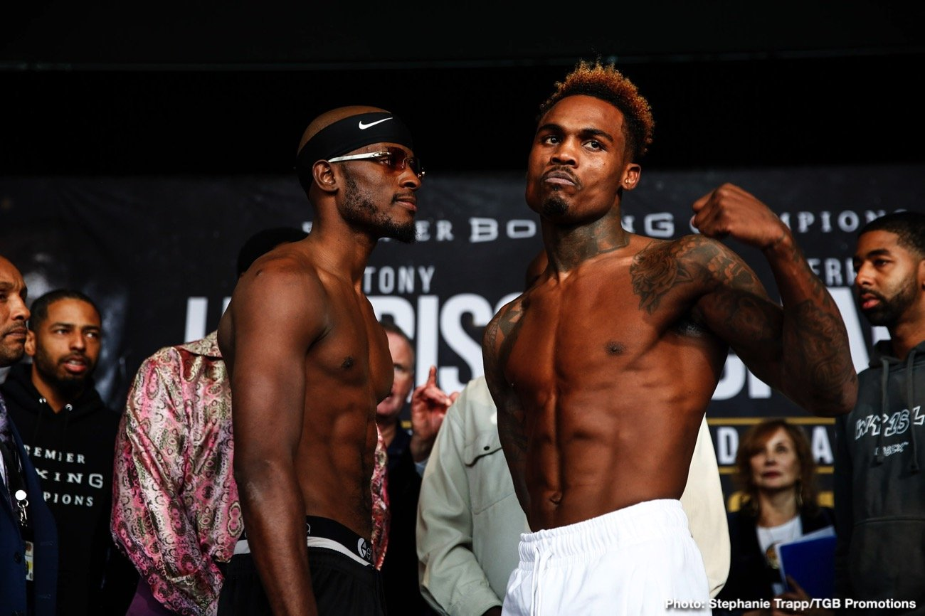 Tony Harrison - Live on free-to-air FOX, Tony Harrison and Jermell Charlo compete in a rematch from a year ago almost to the day. The trash talk between the two fighters has been a breath of fresh air to any boxing fan who really likes well-cooked beef. What could be different Tony this time around as the hunted and will Charlo show more patience as the hunter? Unfortunately, Guillermo Rigondeaux will not be on the card because of Visa issues with his opponent Jorge Solis.