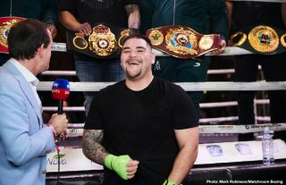 Eddie Hearn made 7-figure offer to Andy Ruiz Jr. for Dillian Whyte fight on March 28 or April