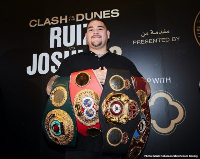 Andy Ruiz Anthony Joshua Boxing News