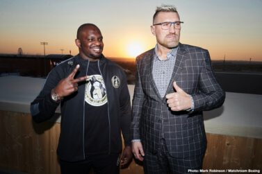 """Alexander Povetkin, Dillian Whyte, Eric Molina, Filip Hrgovic, Mariusz Wach, Michael Hunter - Alexander Povetkin: """"I am really glad to be here and very excited to be on a card like this fighting Michael Hunter."""