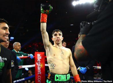 Egidijus Kavaliauskas Michael Conlan Richard Commey Teofimo Lopez Terence Crawford Boxing News Boxing Results Top Stories Boxing