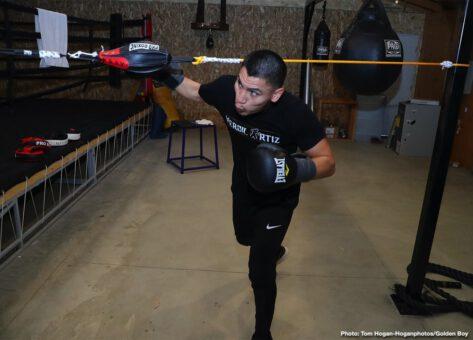 Brad Solomon, Vergil Ortiz - Boxing News