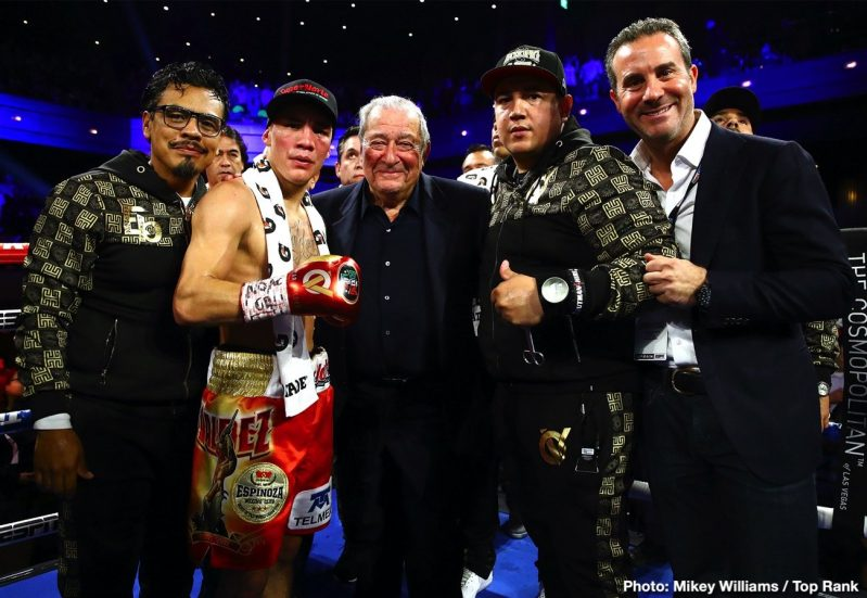 Adam Lopez Carl Frampton Óscar Valdez Tyler Mccreary Boxing News Boxing Results