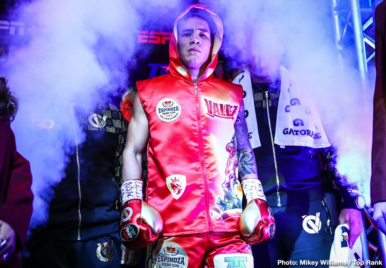 """Jayson Velez - The first run of Top Rank on ESPN shows inside the MGM Grand """"Bubble"""" will conclude with a certified boxing action hero ready for another toe-to-toe tussle."""
