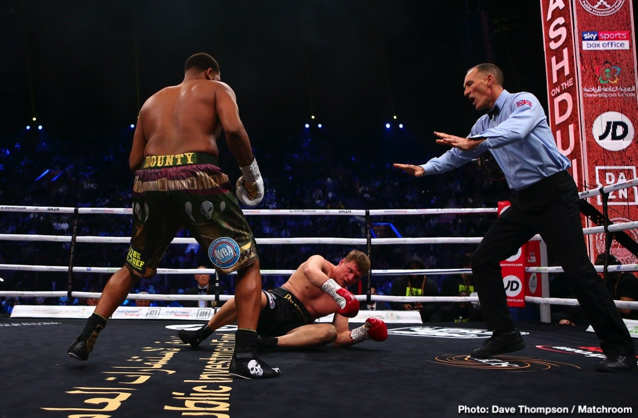 Michael Hunter, Mike Wilson, Triller - Boxing News