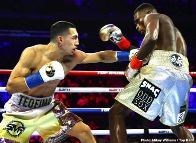 Richard Commey Teofimo Lopez Boxing News Boxing Results Top Stories Boxing