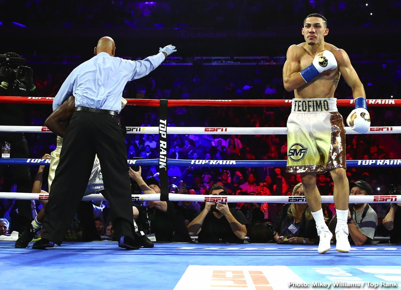 Teofimo Lopez, Vasily Lomachenko - Teofimo Lopez is in a position where he has to decide whether to chase greatness or focus on getting the biggest paycheck possible for his lightweight unification match against Vasily Lomachenko.