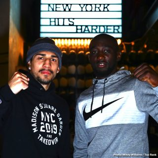 """Vladimir Nikitin - Pound-for-pound king and WBO welterweight world champion Terence """"Bud"""" Crawford returns to Madison Square Garden Saturday evening (9 p.m. ET, ESPN) as the headliner for the card of the year, a three-headed monster that will follow the Heisman Trophy ceremony."""