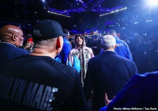 """Top Rank - Teofimo Lopez enjoyed a breakout year in 2019. The unbeaten 22 year old capped off a fine year, in which he fought and won four times, when he went right through the tough, never stopped Richard Commey inside two rounds to rip a version of the world lightweight title in December. And now the Brooklyn man is thinking much bigger. In fact, Lopez is """"dreaming big."""" Speaking with ESPN, Lopez said he aims to fight, and defeat, pound-for-pound king Vasyl Lomachenko next, and then move up to dominate the 140 and 147 pound divisions."""