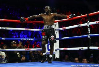 """Ray Robinson - Who will Terence Crawford fight next? When will the unbeaten pound-for-pound fighter box next? Crawford has not fought this year yet and fans are kind of running out of patience. The way Ray Robinson tells it, Crawford is only looking for """"easy fights."""" Philly's Robinson, 24-3-2(12) owns an amateur win over Crawford, 36-0(27) and the 34 year old fully believes he would repeat that win should he get Crawford into the ring at pro level."""