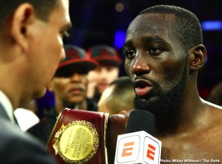 "Terence Crawford - Boxing's Welterweight Champion Terence ""Bud"" Crawford is the latest guest on the Last Stand Podcast with Brian Custer.  Crawford talks about his career during the pandemic, a possible Errol Spence Jr. fight, what he feels about PBC and top fighters and who he plans to step into the ring with next."