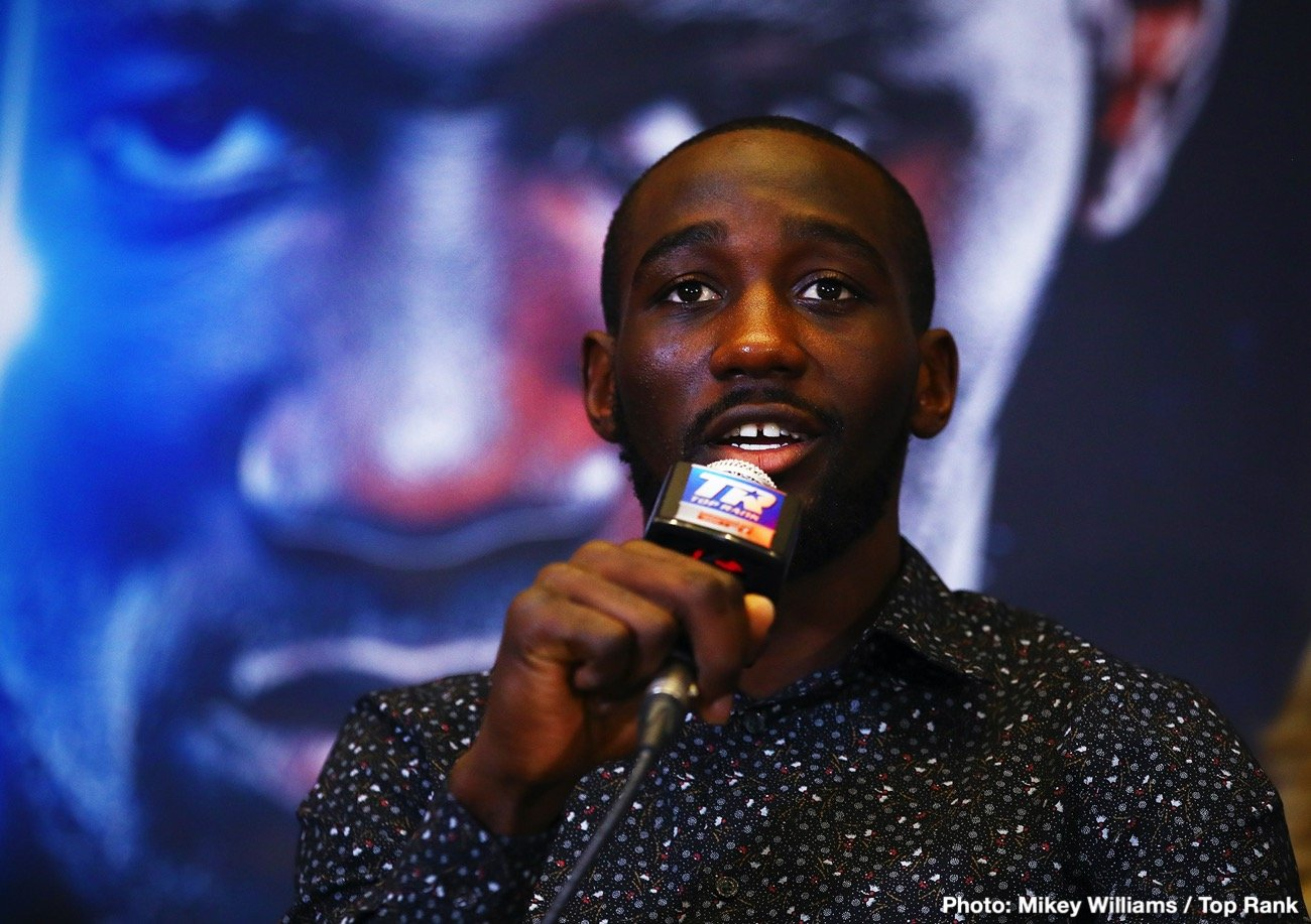 Terence Crawford - Boxing Interviews