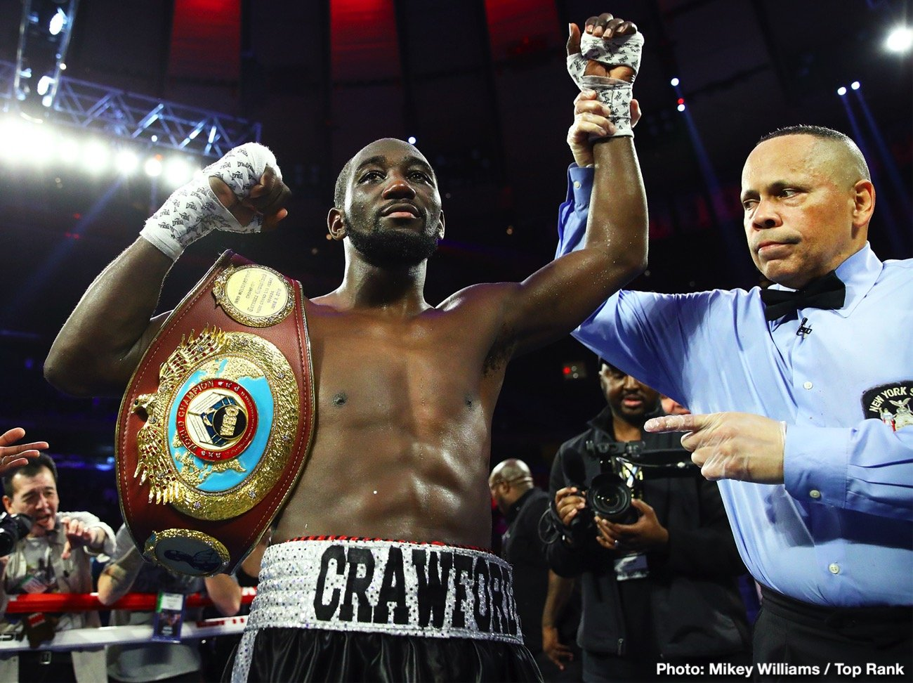 Terence Crawford - Terence Crawford wants the big names like Manny Pacquiao and Keith Thurman, but the odds of him getting any of the top welterweights during the pandemic is slim and none.