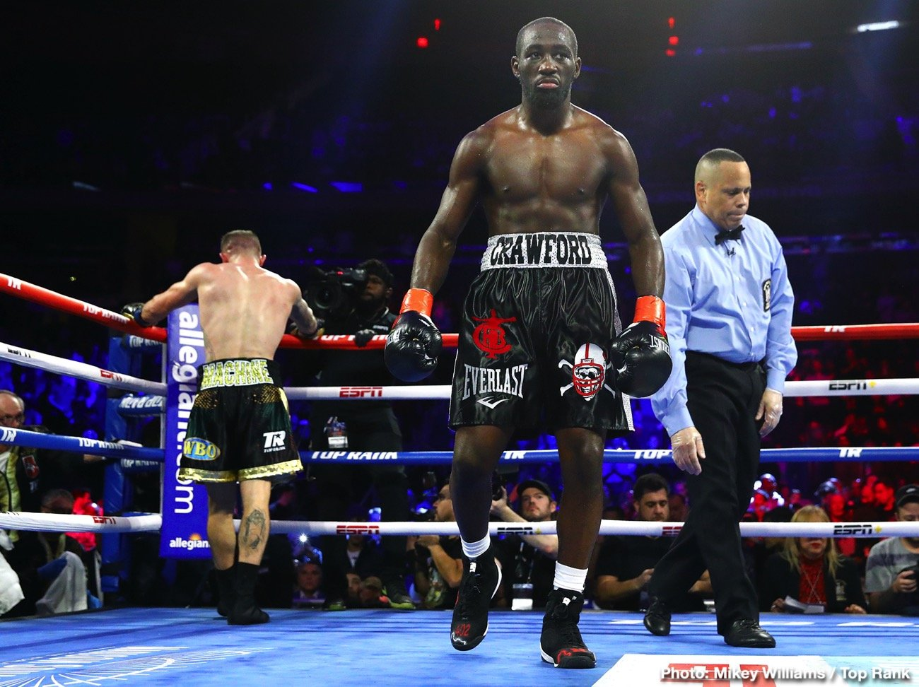 """Michael Conlan - Egidijus """"Mean Machine"""" Kavaliauskas was game, but pound-for-pound king Terence """"Bud"""" Crawford was too much."""