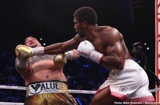 Anthony Joshua -  Warren Urges Joshua To Give Up Belts And Fight Wilder-Fury Winner Next